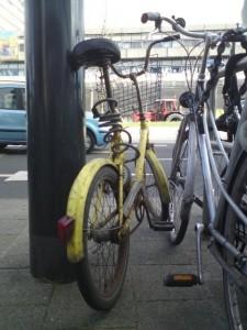 Het gele fietsje, 20 februari 2013