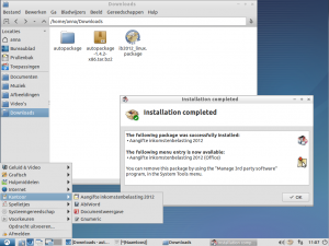 Lubuntu autopackage installer
