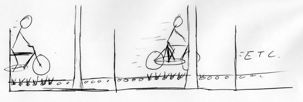 Groene fietsersgolf