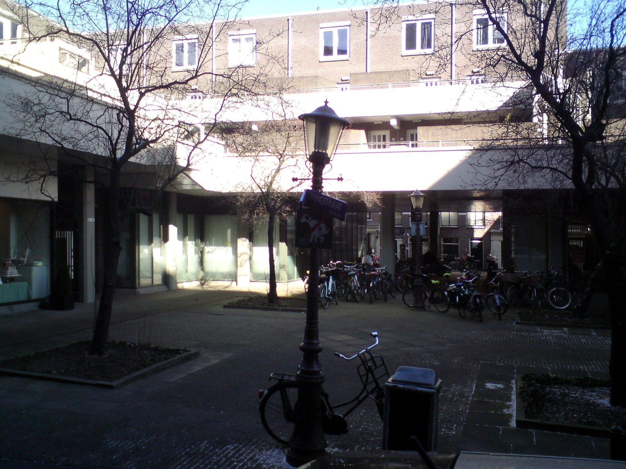 Pleintje aan Nieuwe Weteringstraat