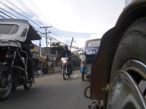 Trikes in Puerto Princesa, Palawan, Philippines