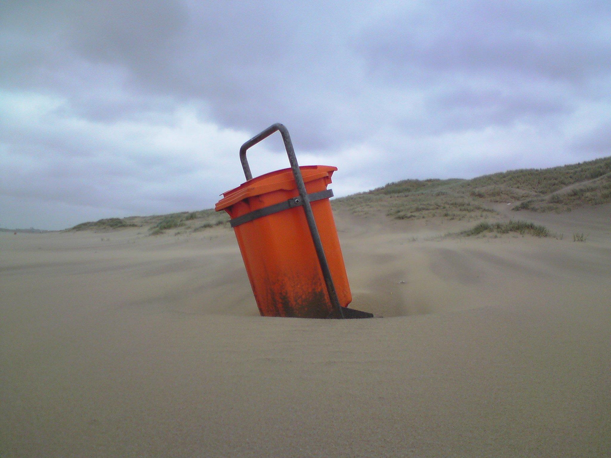 Een Nederlands strand, 28 mei 2011