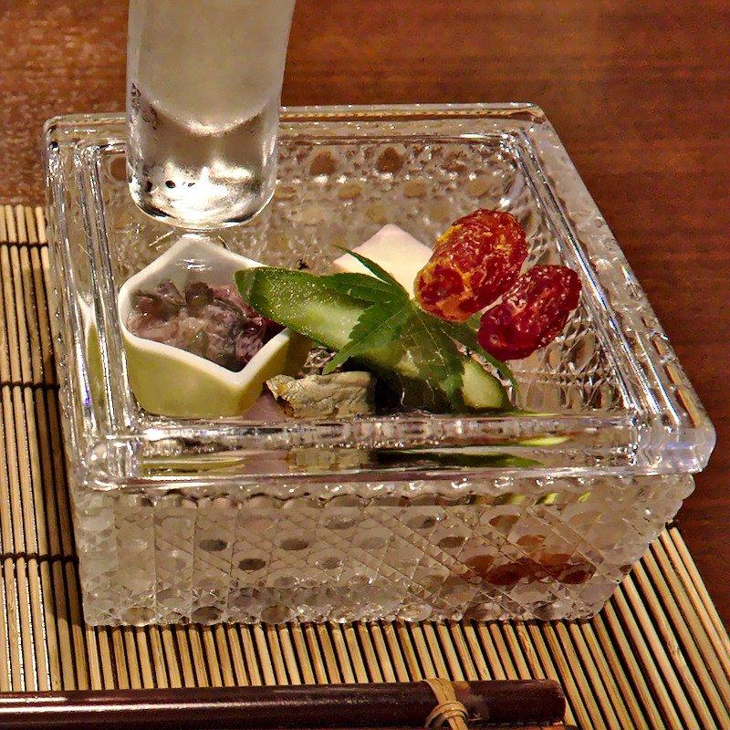 choji nasu (aubergine) in pruimenazijn