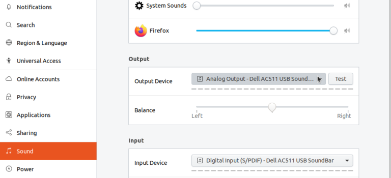 Prevent automatic change of audio device – Ubuntu – Daniel Gibbs